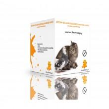 Zestaw BEZINWAZYJNY na balkon dla kotów